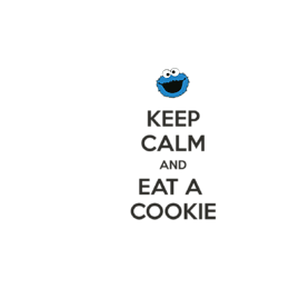 Kubek Keep Calm and Eat a Cookie - Dla dzieci
