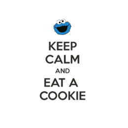 Torba Keep Calm and Eat a Cookie - Z bajkami i komiksami