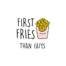 Torba First fries than guys