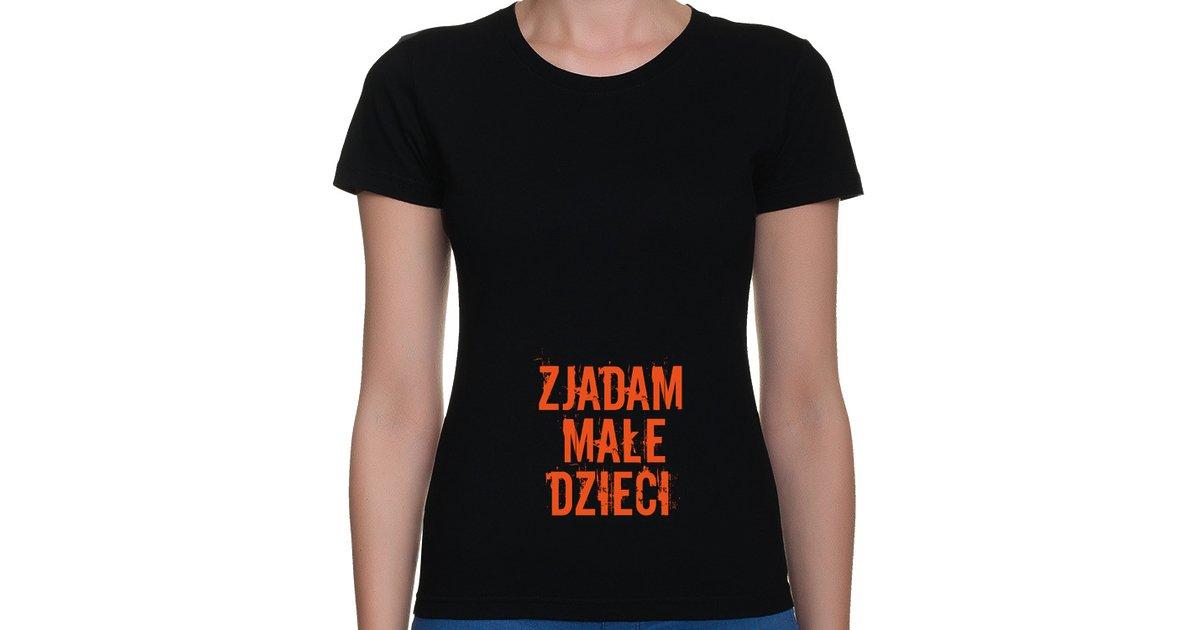 Koszulka Zjadam małe dzieci