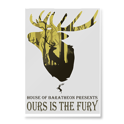 Plakat Ours is the fury - Plakaty