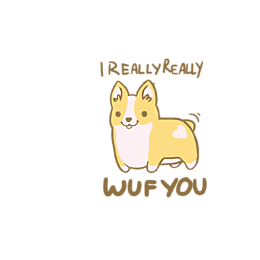 Kubek I really wuf you - Kubki
