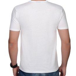 e891ba3a9 ... Męska koszulka premium (bez nadruku, gładka) - biała - Gładkie / czyste  ...