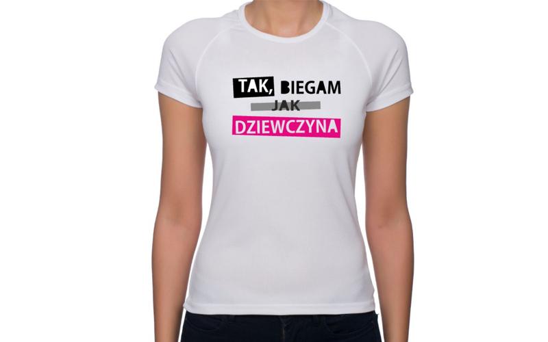 Coś dla aktywnych! Koszulki z nadrukiem do biegania