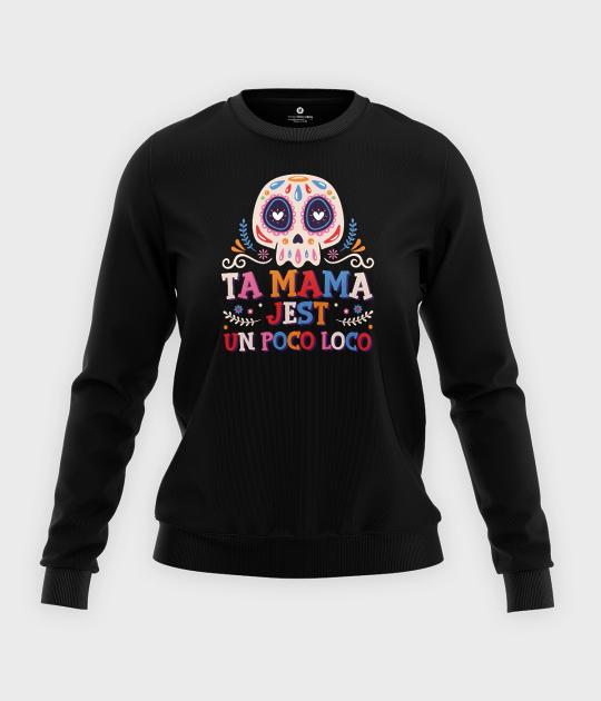 Bluza klasyczna damska Un poco loco