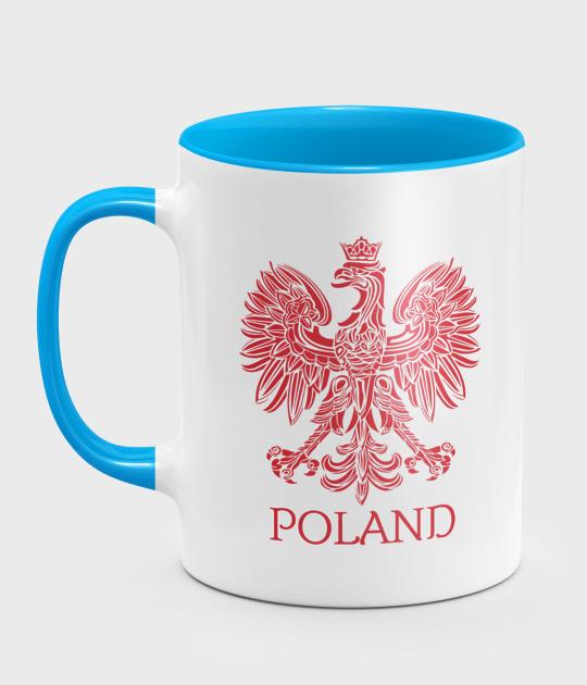 Kubek kolorowy Poland 4