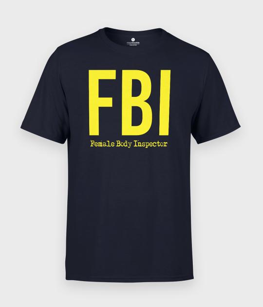 Koszulka męska FBI