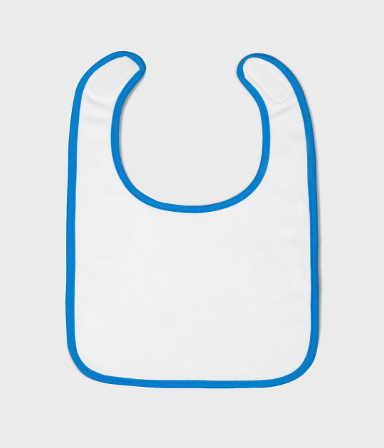 Śliniak (bez nadruku, gładki) - niebieski
