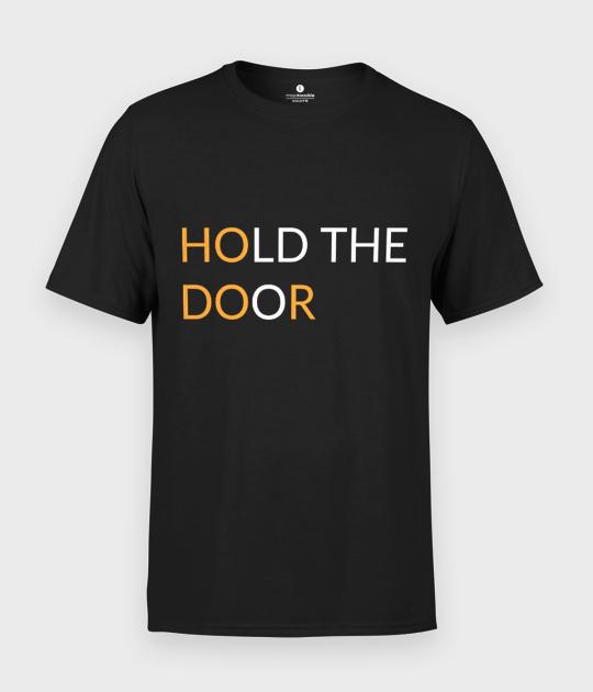 Koszulka męska Hold the door 2
