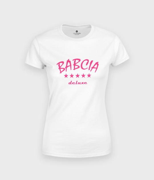 Koszulka damska Babcia deluxe