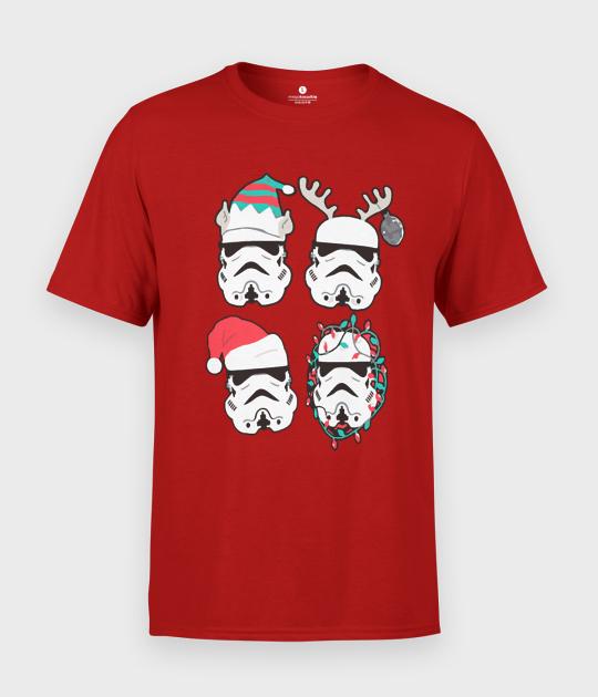 Koszulka męska Christmas Troopers