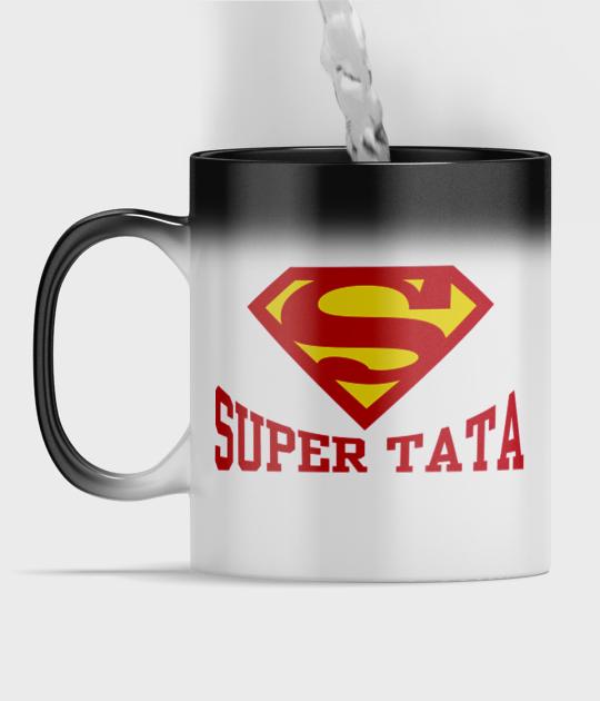 Kubek magiczny full print Super tata