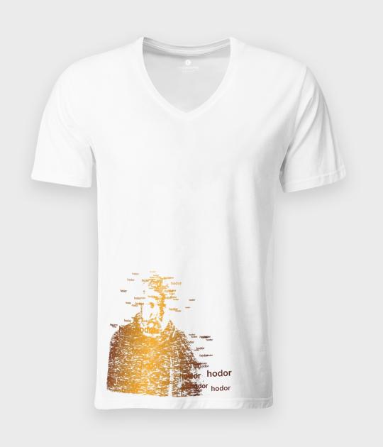 Koszulka męska v-neck Mute