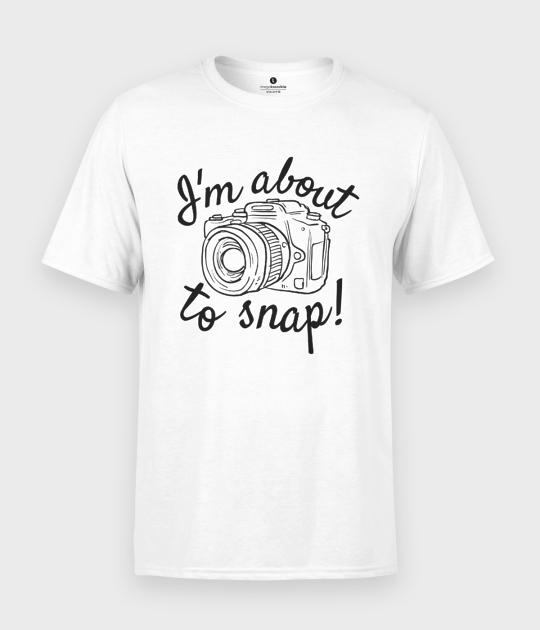 Koszulka męska About to snap