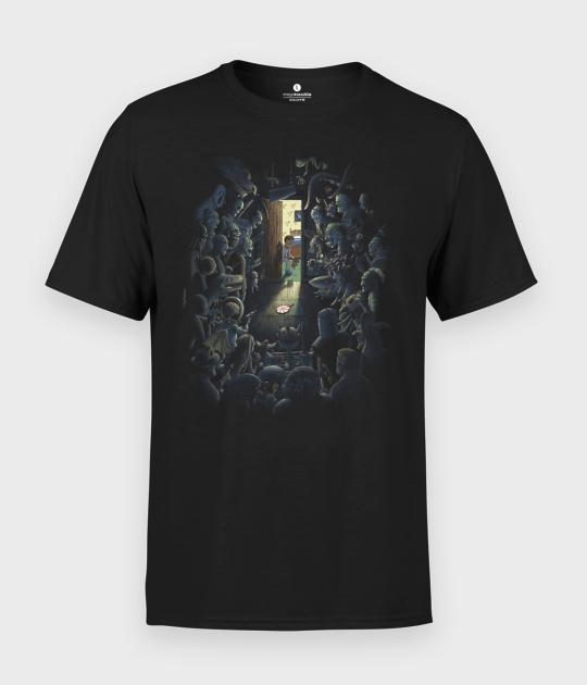 Koszulka męska Potwory Istnieją