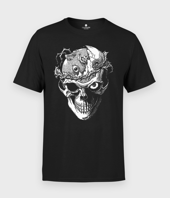 Koszulka męska Creepy Skull 2