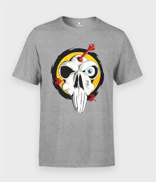 Koszulka męska Darts Skull