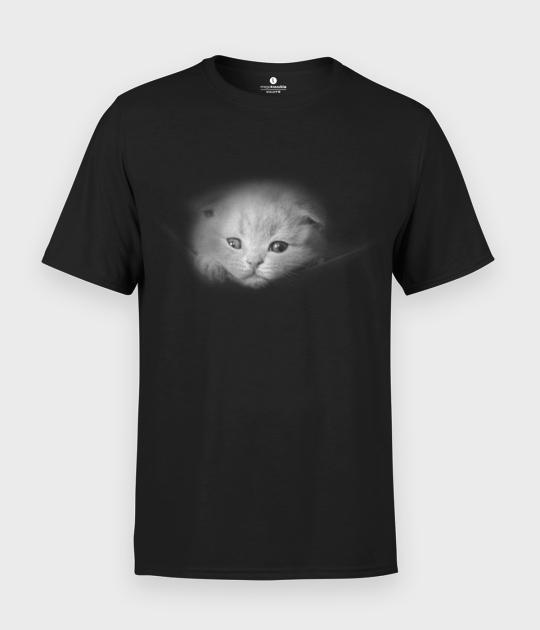 Koszulka męska Kitty in pocket 3D