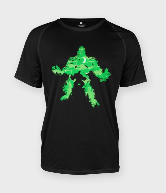 Koszulka męska sportowa Green Monster