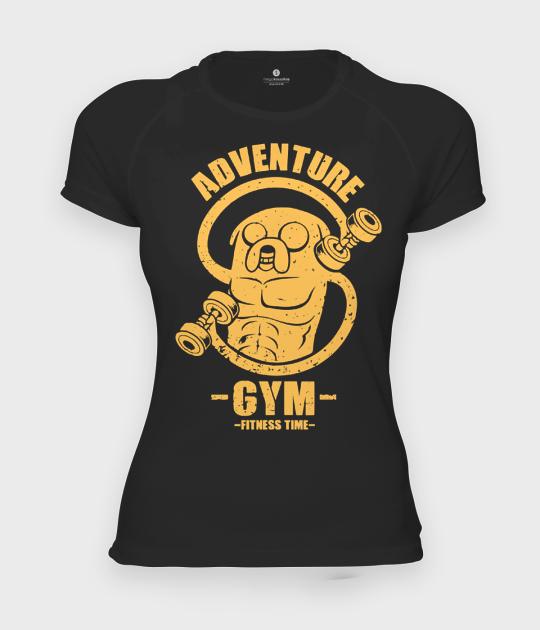 Koszulka damska sportowa Adventure gym