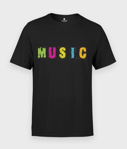 Koszulka męska Music