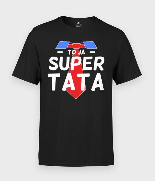 Koszulka męska To ja Super Tata