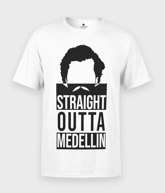 Koszulka męska Straight outta medellin