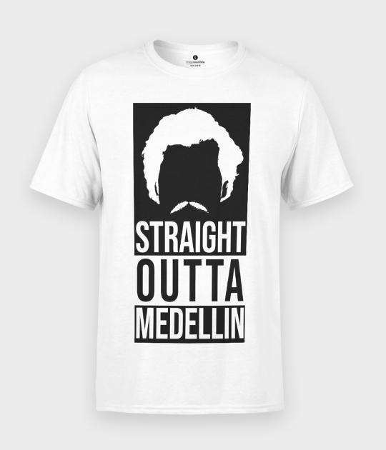 Koszulka męska Straight outta medellin 2