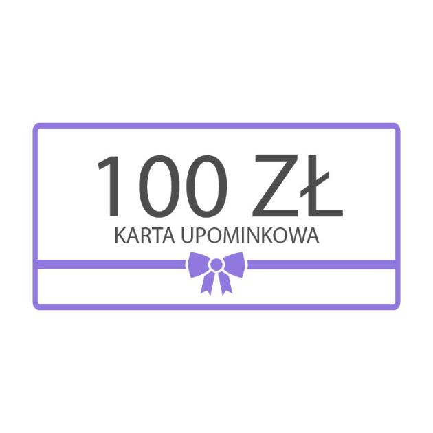 Karta upominkowa 100zł
