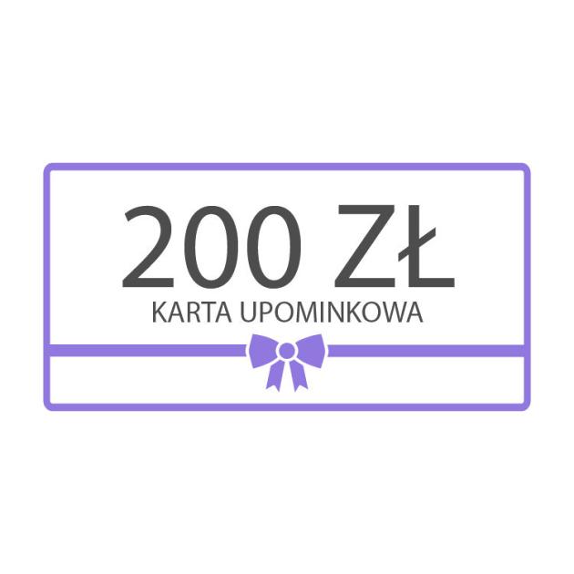 Karta upominkowa 200zł