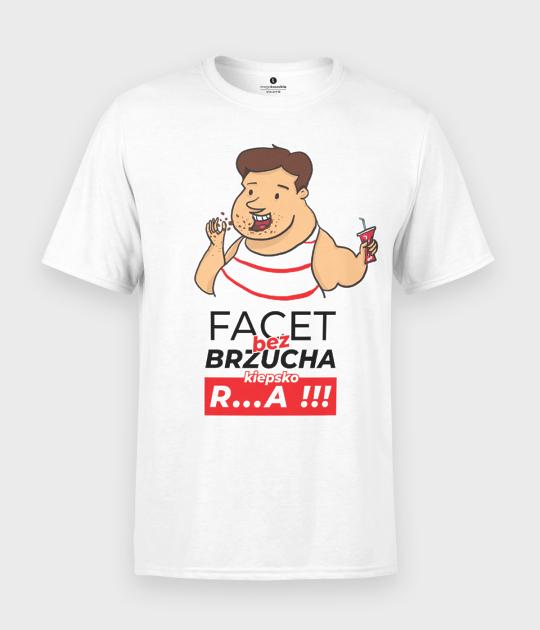 Koszulka męska Facet bez brzucha
