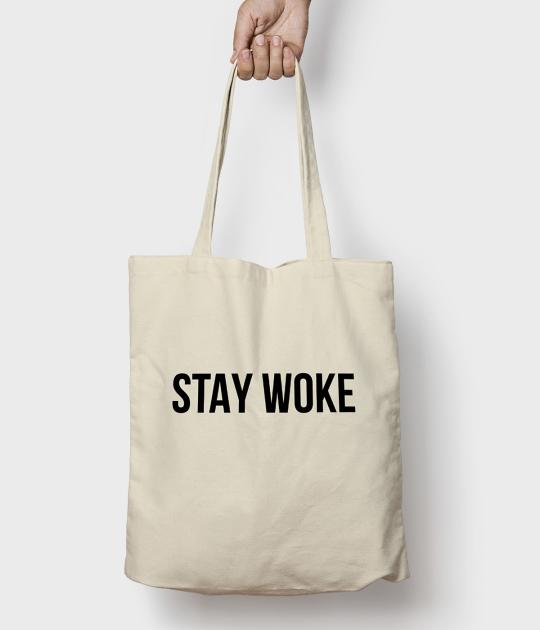 Torba bawełniana Stay Woke