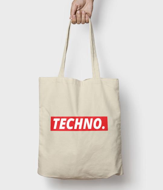Torba bawełniana Techno 2