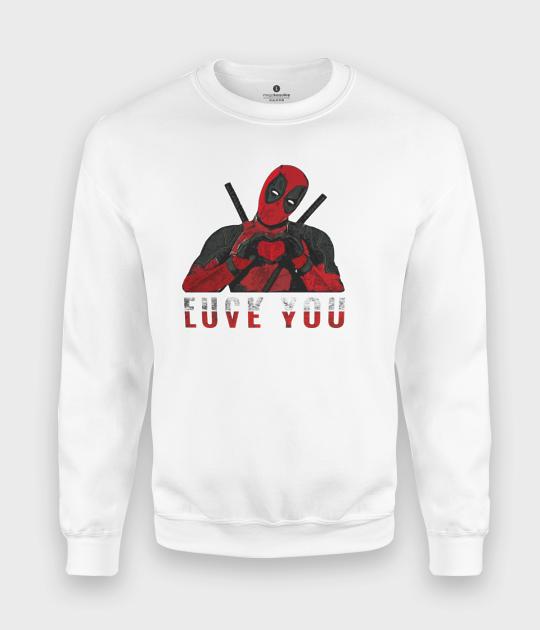 Bluza klasyczna Love you