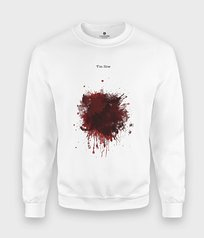 Bluza Blood Splatter I am fine