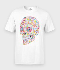 Koszulka Abstract Skull
