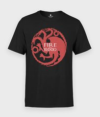 Koszulka Fire and blood - Serialowe