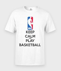 Koszulka Keep Calm and Play Basketball - Sportowe