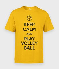 Koszulka Keep Calm and Play Volleyball - Sportowe