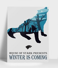 Plakat Winter is coming - Plakaty