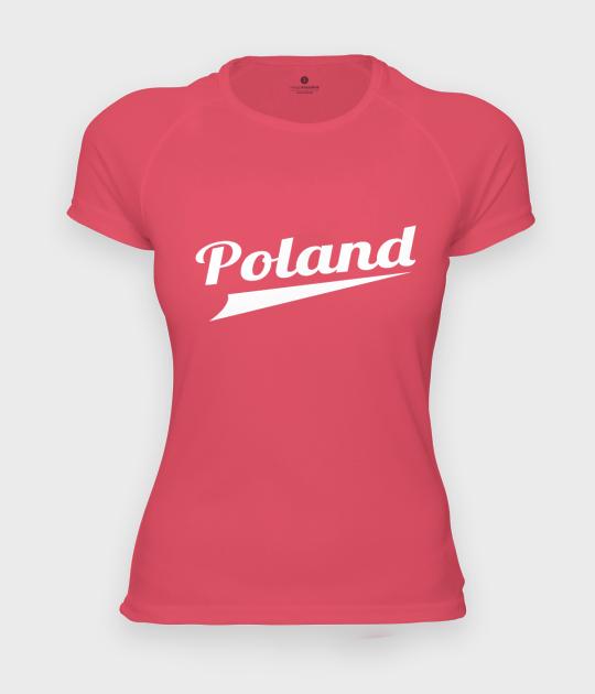 Koszulka damska sportowa Poland