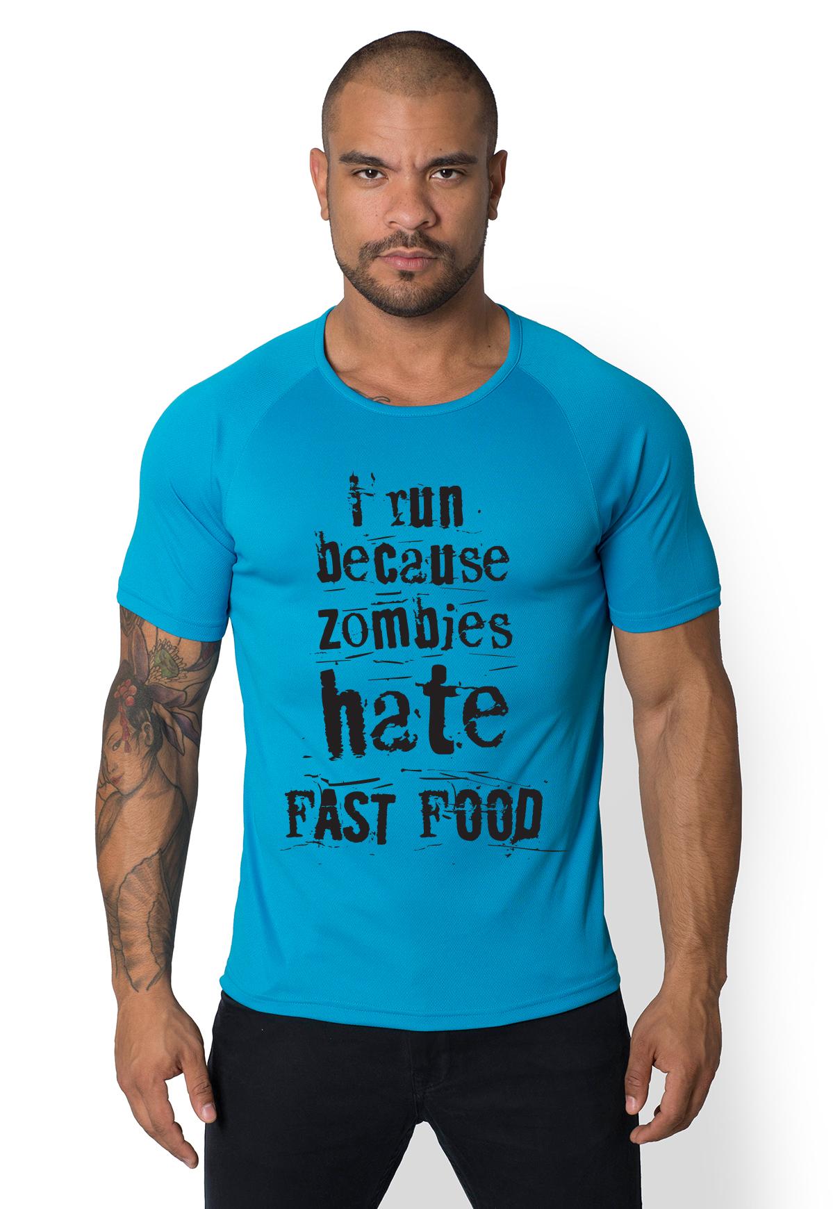 Koszulka sportowa Fast food