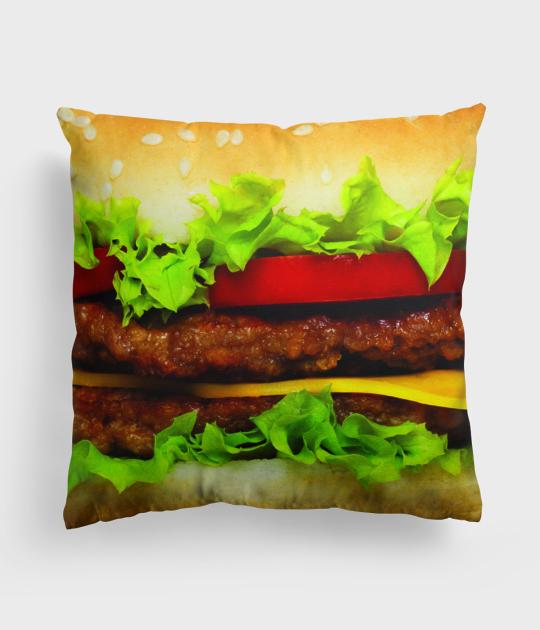 Poduszka full print Hamburger 2