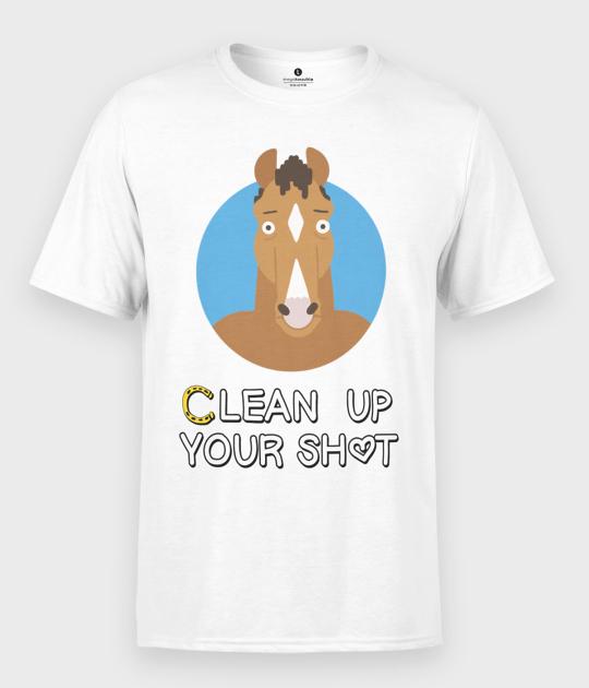Koszulka męska Clean up your shit