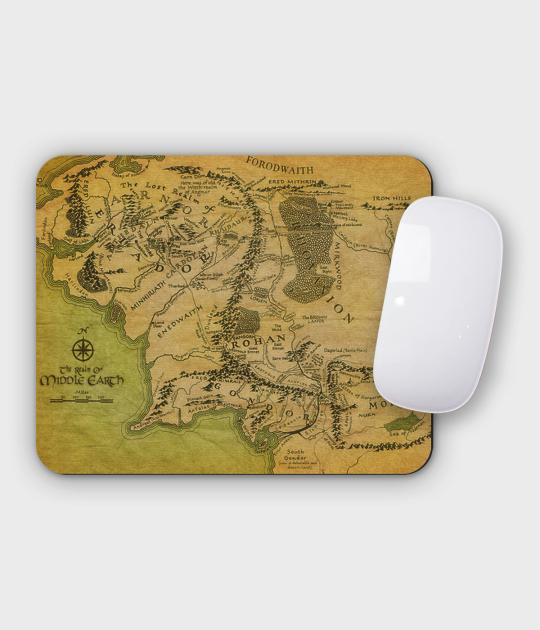 Podkładka pod mysz pozioma - mała Middle earth