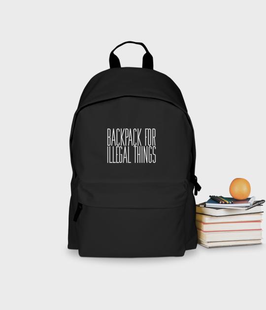 Plecak szkolny Illegal things 2