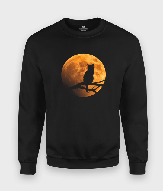 Bluza klasyczna Cat moon