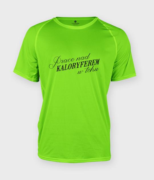 Koszulka męska sportowa Prace w toku