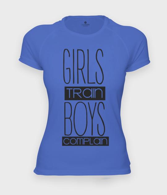 Koszulka damska sportowa Girls train