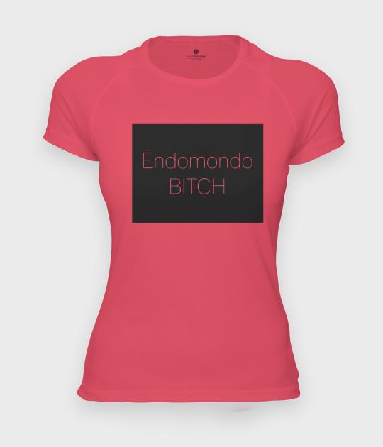 Koszulka damska sportowa Biegam z endo